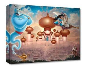 A Whole New World - Jared Franco - Treasure On Canvas Disney Fine Art Aladdin