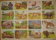 Judaica 16 Old Children Cardboard Stand Toys Zoo Page