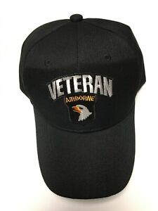 US ARMY 101ST AIRBORNE DIVISION VETERAN MILITARY HAT/CAP