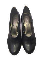 Ladies Clarks Black Shoes UK4.5