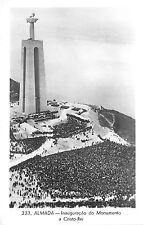 BR62397 almada inauguracao do monumento a cristo rei   real photo portugal