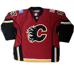 Calgary Flames CCM RBK Ice Hockey NHL Jersey 2008-09 / Mens 48 / Cammalleri 13