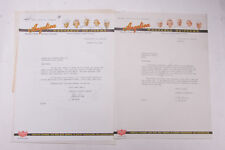 1940 Lamson Goodnow Angelica Washable Uniforms St Louis MO Letter Ephemera P660F