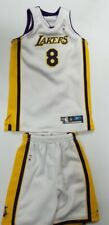 Custom 1/6 white 8 Kobe Bryant los angels jersey fit Enterbay