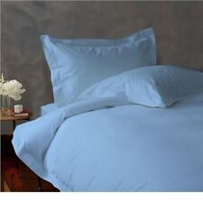 800 TC EGYPTIAN COTTON BEDDING 3 PCs FITTED SHEET SKY BLUE COLOR