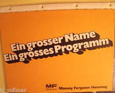 ✪Sales Brochures Bagger Gesamt Programm PROSPEKT MF Massey Ferguson