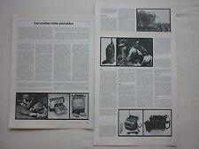 4/80 ARTICLE 6 PAGES EN FRANCAIS LES POSTES RADIO PORTABLES PRC TRM TAD SINCGARS