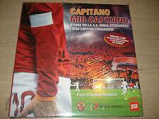 BOOK + 2 DVD CAPITANO MIO CAPITANO STORIA AS ROMA FRANCESCO TOTTI I CAPITANI