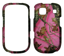 Pink camo  leaves hunter  AT&T  ZTE Z431 Prepaid GoPhone Case cover protector
