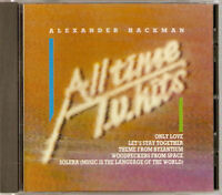 Alexander Hackman - All Time TV Hits (CD 1988) NEW/SEALED