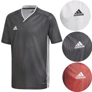 Adidas Youth Tiro 19 Jersey Soccer Climalite Tshirt for Kids Training NEW
