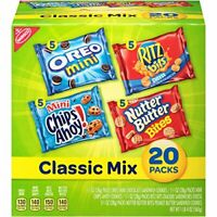 Food Snacks,Cookies & Crackers Energy &Healthy Food 20 Count In Box Classic Mix