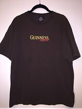 St James Gate Dublin Traditionally Brewed Guinness Extra Stout Brown Shirt Large
