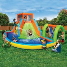 Inflatable Water Slide 🔥🔥 Summit Splash Adventure Water Park Pool Banzai 13998