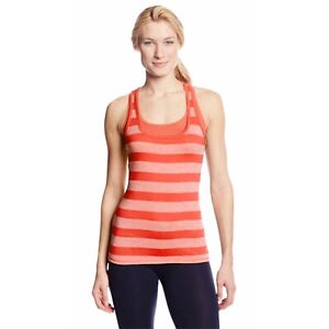 Soybu NWT Size M Persimmon Athletic Comfort Stretch Twofold Tank Top