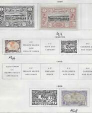 3 Somali Coast MLH/MH Stamps from Quality Old Album 1894-1909