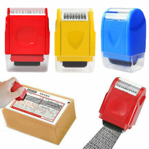 ID Theft Protection Stamp Roller Easy Guard Data Identity Security Privacy Gift