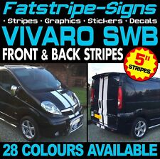 VAUXHALL VIVARO SWB STRIPES GRAPHICS STICKERS CAMPER VAN MOTORHOME CONVERSION D