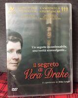 Il Segreto di Vera Drake (2004) DVD Nuovo Sigillato Mike Leigh