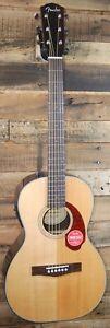 Fender Classic Design CP-140SE Parlor Acoustic-Electric Guitar w/ Hard Case NEW