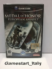 MEDAL OF HONOR EUROPEAN ASSAULT (NINTENDO GC GAME CUBE) PAL NUOVO NEW SEALED