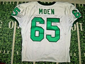 VTG 1990's NIKE Oregon Ducks Game Used Worn Football Jersey Deke Moen 1997-1999