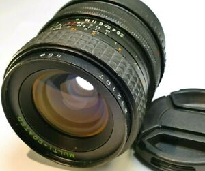 Makinon 28mm f2.8 FD MF Lens adapted to Sony E mount cameras α6500 α6100 α6000
