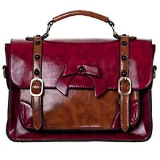 Banned Handtasche / Henkeltasche - Leather Bow Rot
