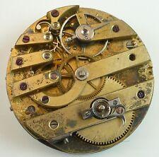 Jules Huguenin Pocket Watch Movement - Spare Parts / Repair