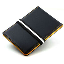 Business Credit Cards Case Wallet Accessories Money Holder Clip(Yellow)