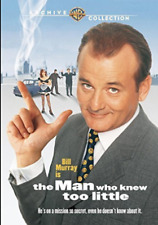 THE MAN WHO KNEW TOO LITTLE (Bill Murray)  - DVD - Region Free Sealed
