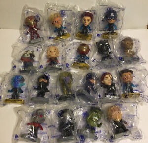 2019 Mcdonald's Marvel Avengers Happy Meal Toys Lot Of 19