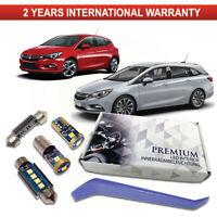Opel Astra K LED Interior Premium Kit 11 SMD Xenon White Bulbs Error Free