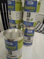 5 Colors Sapphire Pad&Screen Printing Inks 2.2Lb 1EACH SB Series INKCUPS  no-tax