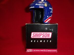 DALE EARNHARDT SR #3 1996 OLYMPIC SIMPSON MINI HELMET