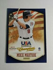 MIKIE MAHTOOK 2013 PANINI USA BASEBALL CHAMPIONS CARD # 67 C2906