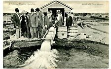 Deming NM - A PUMPING PLANT IN OPERATION - Postcard New Mexico