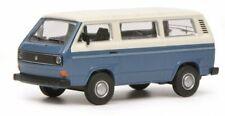 1/64 Schuco VW T3 Bus blau weiß 452017200