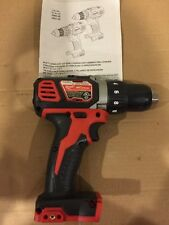 "New Milwaukee M18 18V Li-Ion Compact 1/2"" Drill Driver (Bare Tool) 2606-20"