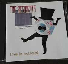 The Residents - Cube-E - Live In Holland CD, RARE, Great Condition