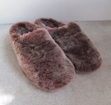 Giesswein Gerolding Lambswool Slippers Womens Nerz 37/6-6.5 Brown MSRP $136