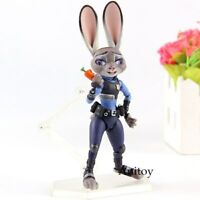 Revoltech Movie Revo Series No.008 Judy Hopps Zootopia PVC Action Figure Toy
