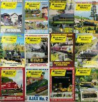 (Lot of 12) 1994 Railroad Model Craftsman Magazines