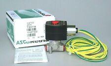 """ASCO Low Temperature Gas Shutoff Solenoid Valve HV426716002, 24VDC 1/4"""" NPT S.S."""