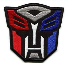 Transformers Autobot Movie Film Patch Embroidered Iron on Hat Jacket Hoodie 048