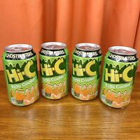 Ghostbusters 2016 Ecto Cooler LOT of 4 Color Changing Aluminum Cans - UNOPENED