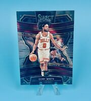 COBY WHITE 2019-20 Panini Select Concourse Rookie RC Chicago Bulls CLEAN PSA!📈