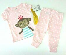 Carter's Estados Unidos 62-68 pijama pijama corta chica mono algodón nuevo rosa Baby