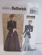 Ladies Historical Costume Sewing Pattern For Dress Sz. 8-14 Butterick