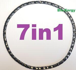 JADE COPPER Magnets necklace Power Energy Bio Balance GERMANIUM 7in1 Halskette